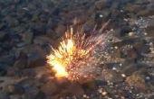 Bombe de bouteille Cierge magique