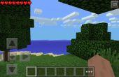 PE de Minecraft : Survivre à la première nuit