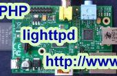 Installer un serveur web de Raspberry Pi PHP