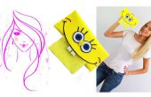 Comment faire de l'artisanat de mousse / SpongeBob SquarePants tissu titulaire de tutoriel pour les enfants