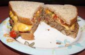 Sandwich pain de viande Super