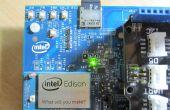 Intel Edison IoT_Read capteur de pression et de données d'enregistrement sur carte SD