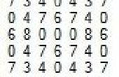 Le carré magique symétrique