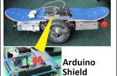 Équilibrage automatique skateboard/segw * y projet Arduino Shield