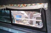 Les écrans amovibles pour une coque de camping-car camion