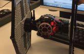 Rétro-conception et impression d'un ordre de Lego premier 3D Tie Fighter !