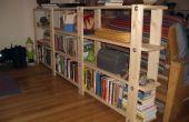 Plans de la bibliothèque bon marché, facile, peu de déchets