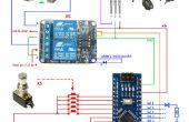 Arduino programmable 5 pédale commutateur