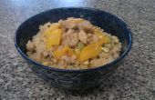 Porc frit riz