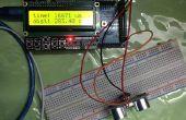 Capteur à ultrasons avec écran LCD