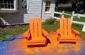 Les chaises Adirondack bois solide