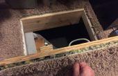 Porte d'accès secret Crawlspace 14 $
