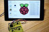 Analogique/Raspberry pi Conseil de conversion analogique/numérique et affichage de tension de GUI