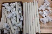 Matériaux PVC chaise (insérer une image matérielle)