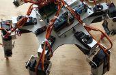 Hexapod Arduino Pololu Maestro Servo Controll