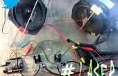 LaserTweet - Twitter projection Laser Show
