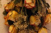 Seches roses la manière simple