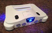 N64 LED 5v Power Source & Front emblème retrait