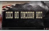 Comment faire pour supprimer tan