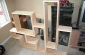 Construire une étagère DVD Tetris (ou livre)