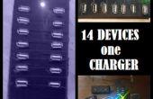 14 x les charge hub USB !