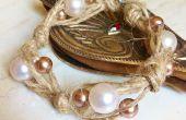 Facile perle et Bracelet de chanvre