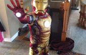 Simplement et à moindre coût ajouter repulsor lumières au costume de childs iron man