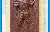 Chocolat Han Solo dans la Carbonite Cookies