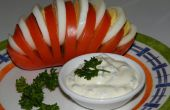 Fan de tomate (tomate farcie de œufs)