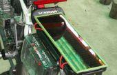 Solar facturés LED feux avec feu stop clignotant pour bicyclettes