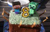 Gâteau de couche de Minecraft
