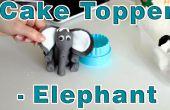 Comment faire la pâte de sucre Fondant éléphant Cake Topper