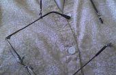 Difficulté de glisser les cordons pour lunettes