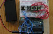 Affichage sur 4 digits 7 segments LED + Arduino