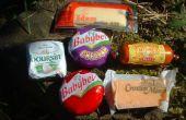 Boutons : une expérience avec du fromage