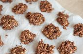 Biscuits à l'avoine sans cuisson chocolat & café