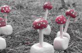 Les champignons champignons argile mini