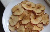 Chips de pomme au four !