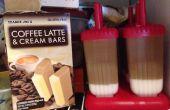Café et crème Popsicles