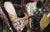Chaussures de bandes dessinées : Hightops & sabots plateforme