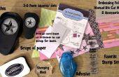 À l'aide de bouts de papier pour faire rapide et facile en relief des cartes