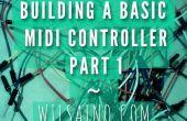 Construire une base Midi Controller partie 1 - 3 facile Pot (potentiomètre) Arduino Uno effets Midi Controller (série-USB)... Rapide, facile et bon marché !