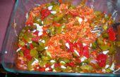 Kim-kraut ? Sauer-chi ? Salade de Sriracha!!!