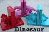 Serre-livres de dinosaure avec colle chaude !