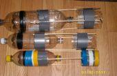 Petites fusées d'eau