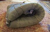 Mon lit de chien hiver