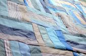 Bouton-up-cycle deuil Quilt Top