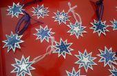 Étoiles de Noël ornement