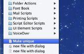 AppleScript pour créer un fichier texte dans le répertoire courant du Finder