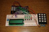 Deuxième solveur d'équations de degré avec arduino
